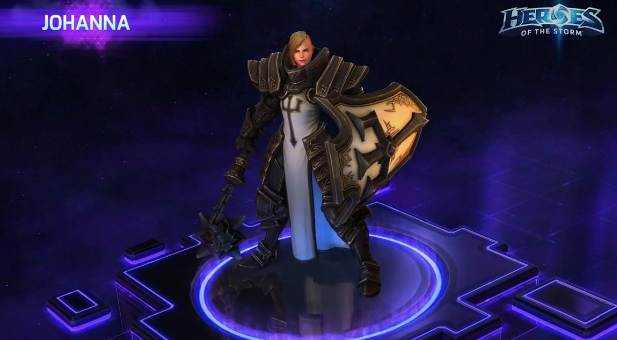 New Hots Hero Johanna Crusader Of Zakarum Cn2 Central Nerd Network Our newest guide for johanna covers all of her abilities, her main talent build + tips and tricks for ranked and unranked game play. new hots hero johanna crusader of